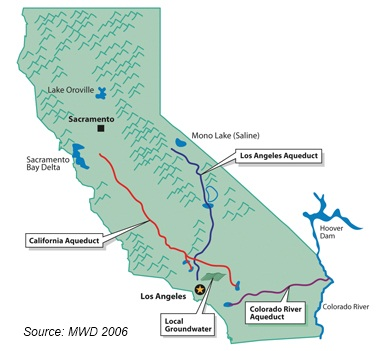 California Aqueduct Map Choices Magazine Online