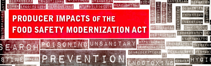 Producer Impacts of the Food Safety Modernization Act