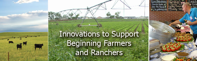Innovations to Support Beginning Farmers and Ranchers