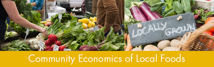 Community Economics of Local Foods