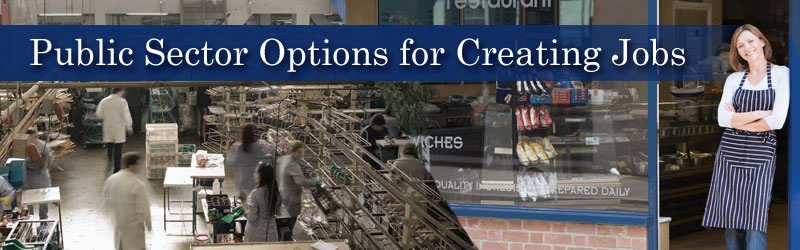 Public Sector Options for Creating Jobs